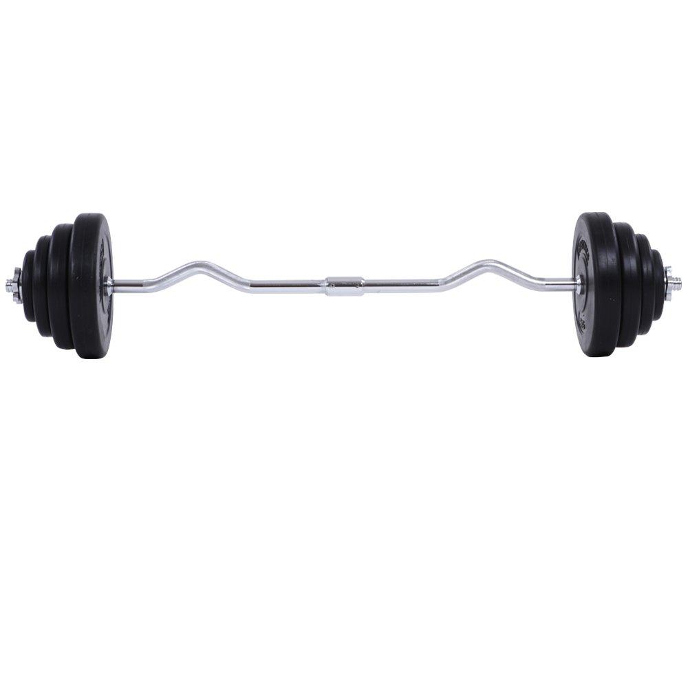 Physionics Set d Haltères EZ Barre Curl avec Disque 23.5 kg Musculation  Fitness Biceps  Amazon.fr  Sports et Loisirs 37869fdf1a0