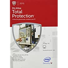 McAfee Total Protection para 1 PC 2015