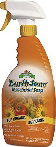 Espoma Organic Earth-Tone Insecticidal Soap - 24 oz Spray IS24 (Insecticidal Soap 24 Ounce)