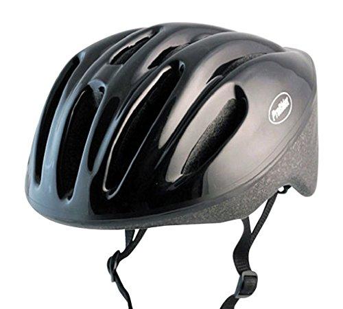 Dual Game Jersey (Classic Bike Helmet with Black Foam, Includes Bonus Weatherproof Vinyl Permanent Adhesive Reflector Sticker, Different Sizes)