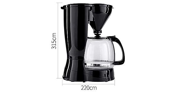 MOCRIS Cafeteras eléctricas Cafetera de goteo inteligente Máquina de café con filtro extraíble para el hogar de la oficina: Amazon.es: Hogar