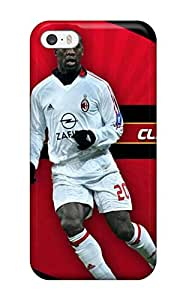 Clarence Seedorf Case Compatible With Iphone 5/5s/ Hot Protection Case(3D PC Soft Case)