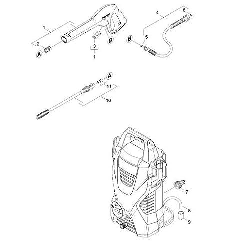 Kärcher K2 Basic - Hidrolimpiadora de alta presión para exteriores ...
