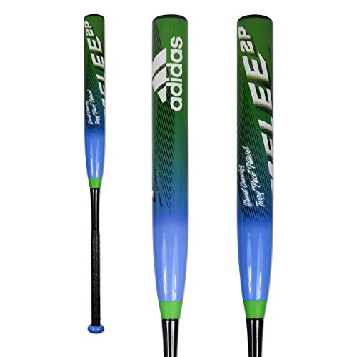 adidas Melee 2P Balanced 13? 2-Piece Senior Slowpitch Bat - - Piece 2 Bat