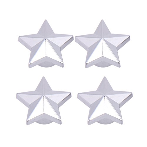 タイヤバルブキャップ – タイヤ空気バルブキャップタイヤホイールダスト茎Ventilオート車トラックバイク – Five Star Shape
