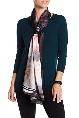 Ted Baker London Women's Chelsea Long Scarf, black, One Size by Ted Baker