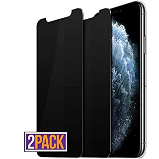 pehael Privacy Screen Protector, Anty- Spy Tempered Glass for iPhone 11 Pro Max iPhone Xs Max, Easy Install, Free Bubbles [6.5 inch](2ps)