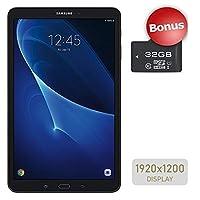 Samsung Galaxy Tab A 10.1'' Touchscreen (1920x1200) Wi-Fi Tablet, Octa-Core 1.6GHz Processor, 2GB RAM, 16GB Memory, Dual Cameras, Bluetooth, 32GB MicroSD Card, Android OS, Choose Your MicroSD