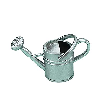 Vibola 1/12 Dollhouse Accessories,1:12 Scale Miniature Watering Can for Doll House Garden Decoration Suitable for Pretend Play Dollhouse Toy (C): Toys & Games