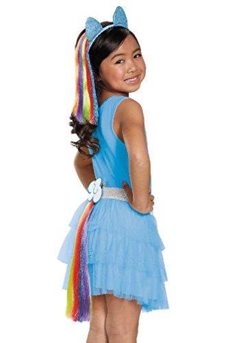 [8eighteen My Little Pony's Rainbow Dash Child Tail] (Rainbow Dash Human Costume)