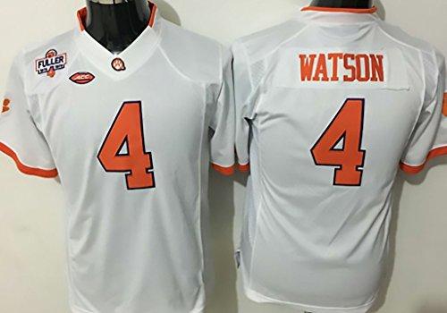 NCAA Football Jersey Clemson Tigers 4 white Football Jersey