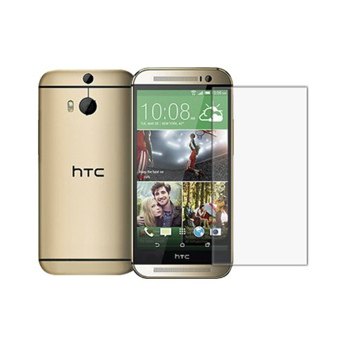 Nilkin Clear Protective Film for the All New HTC One (M8) 2014 - Retail Packaging - Clear