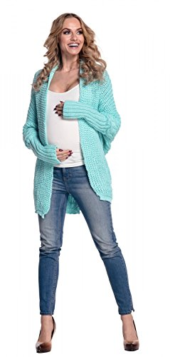 Happy Mama De Las Mujeres Rebeca Maternidad Batwing Suéter 329p verde menta