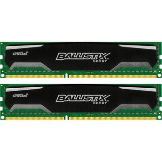 CRUCIAL 8GB kit DDR3 1333 MTs - BLS2KIT4G3D1339DS1S00 by Crucial Technology (Image #1)
