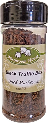 Mushroom House Dried Black Truffle Bits, 3 Ounce