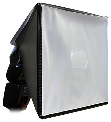 Opteka SB-20 XL Universal Studio Soft Box Flash Diffuser for External Flash Units (14'' X 9.4'' Screen) by Opteka