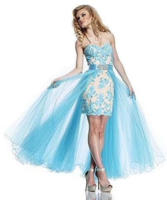 Amazon.com: Riva Designs R9758 High Low Prom Dress