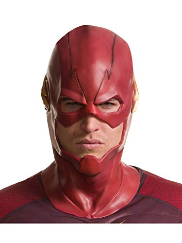 Rubie's Men's The Flash Overhead Mask, As Shown, One Size -