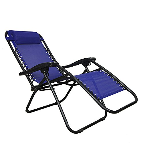 Anti Gravity Chair 0 fortable Wide Recliner Oversized Wider Patio Pool Dec