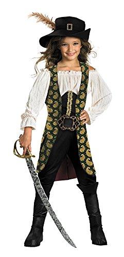 Deluxe Kids Angelica Costumes (Kids-Costume Angelica Deluxe 10-12 Halloween Costume - Child 10-12)