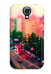 Galaxy S4 Case, Premium Protective Case With Awesome Look - Tilt Shift