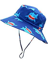 2f0e798a Kids UPF50+ Safari Sun Hat Breathable Bucket Hat Summer Play Hat