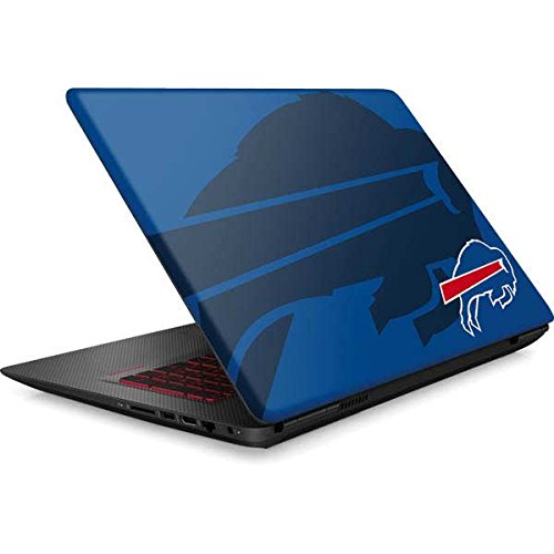 Skinit NFL Buffalo Bills Omen 15in Skin - Buffalo Bills Double Vision Design - Ultra Thin, Lightweight Vinyl Decal Protection by Skinit