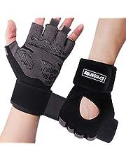 Grebarley Rękawiczki do fitnessu, rękawice treningowe dla kobiet i mężczyzn – rękawice do fitnessu do treningu siłowego, kulturystyki, treningu siłowego i crossfitu