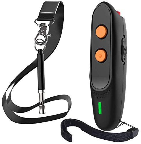 Ultrasonic Dog Bark Deterrent – Rechargeable Bark Control Device – Dog Barking Deterrent Devices – Dog Behavior Training…