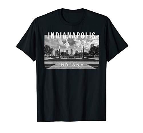 Indianapolis Indiana Skyline Indy Naptown - Tee]()
