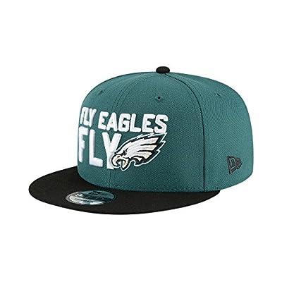 New Era Philadelphia Eagles 2018 NFL Draft Spotlight Snapback 9Fifty Adjustable Hat by New Era