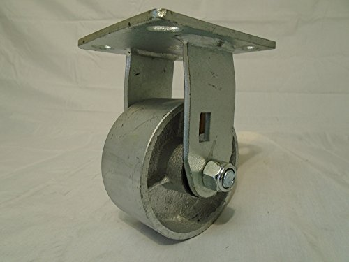 4'' X 2'' Swivel Casters Semi-steel Wheel with Brake (2) and Rigid (2) 700lb Each Tool Box by Creative Industrial Sales (Image #5)
