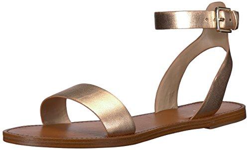 ALDO Women's Campodoro Flat Sandal, Metallic Miscellaneous, 8 B US