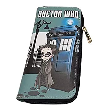 Anime Movie Doctor Who Cartera Larga de Piel sintética para ...