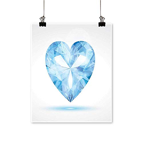 for Home Decoration Big Hanging Valentine He Shad Shadow Box Passi Romance Tune Blue for Home Decoration No Frame,28