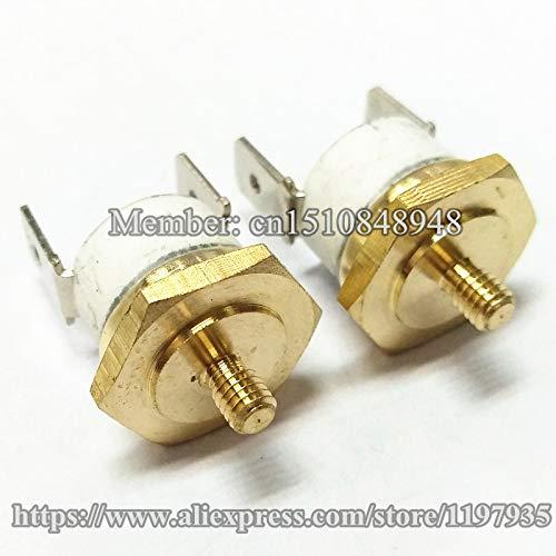 KSD301 - Tornillo de cabeza hexagonal (10 A, 250 V, 160 C, 290 C ...