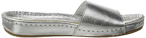 Andrea Conti Women's 0023468 Mules Silver (Silber) GmGtOlqi