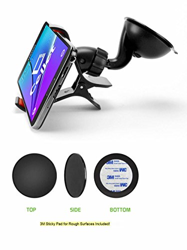 Dashboard Windshield Holder Phones 3 8inches