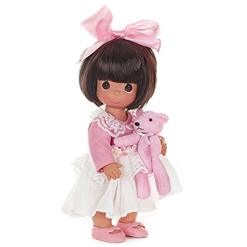 Precious Moments Dolls by The Doll Maker, Linda Rick, Bear Hugs to You, Brunette, 12 inch Doll