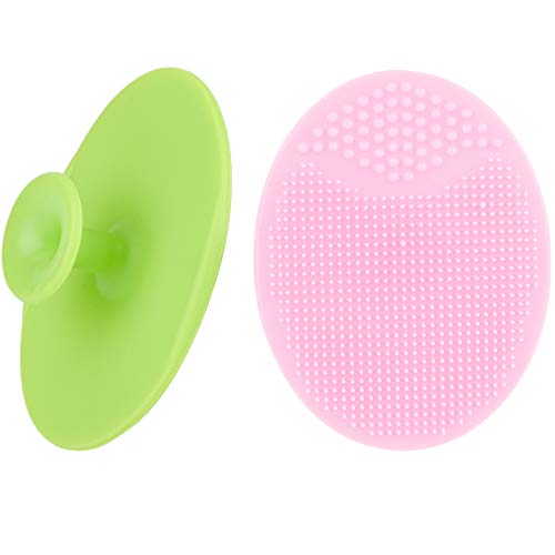 Face Scrubbers Exfoliating Facial Cleansing Brush-Soft Silicone Bristle-Remove Dead Skin Toxins-Improves Lymphatic…