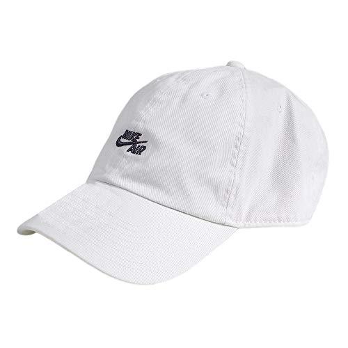 fa512cff Amazon.com: Nike Unisex Air H86 Adjustable Closure Hat Black/White  891289-010: Sports & Outdoors
