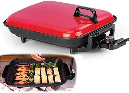 Plaque de cuisson électrique Plaque De Cuisson Électrique Multifonction Fish Bbq Grill Plaque De Barbecue Antiadhésive Sans Fumée Maifanshi Bonne Cuisinière