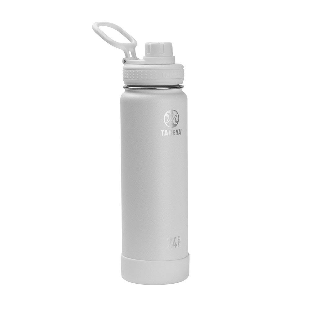 Arctic Takeya Actives Insulated Stainless Water Bottle with Insulated Spout Lid 18oz Renewed