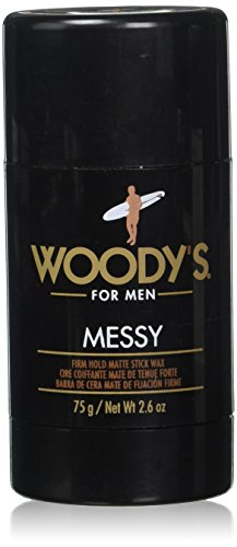 Woody's Messy Styling Stick, 2.6 Ounce (Styling Head Wax)
