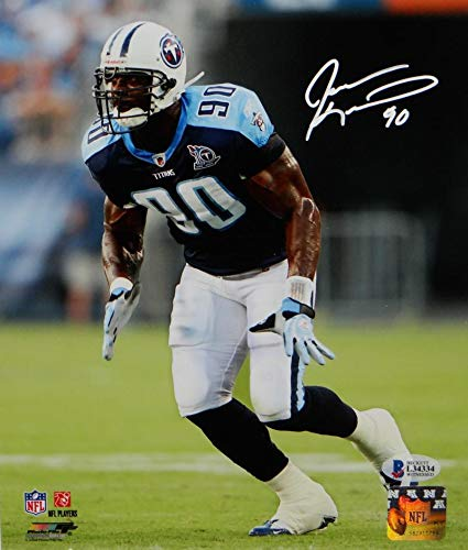 Image Unavailable. Image not available for. Color  Jevon Kearse Signed  Tennessee Titans ... 2c732277f