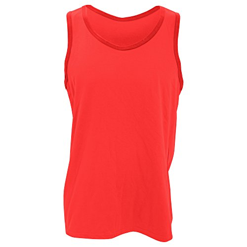 Anvil Lightweight Tank Top. 986 Red -