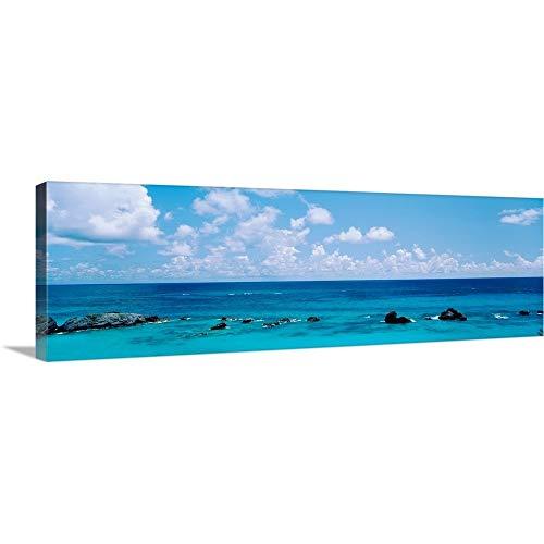 Premium Thick-Wrap Canvas Wall Art Print Entitled Bermuda, Atlantic Ocean 36