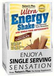 Natures Plus Ultra Energy Shake - Ultra Energy Shake Chocolate Packets Nature's Plus 8 Packet