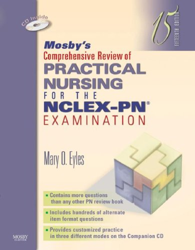 Mosby's Comprehensive Review of Practical Nursing for the NCLEX-PN Examination, 15e (Mosby's Comprehensive Review of Practical Nursing for NCLEX-PN)