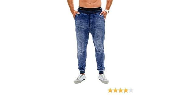 STRIR Hombre Deporte Pantalones Vaqueros Entrenamiento Fitness Jogger